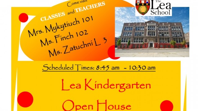 Lea Kindergarten Open House October 2014
